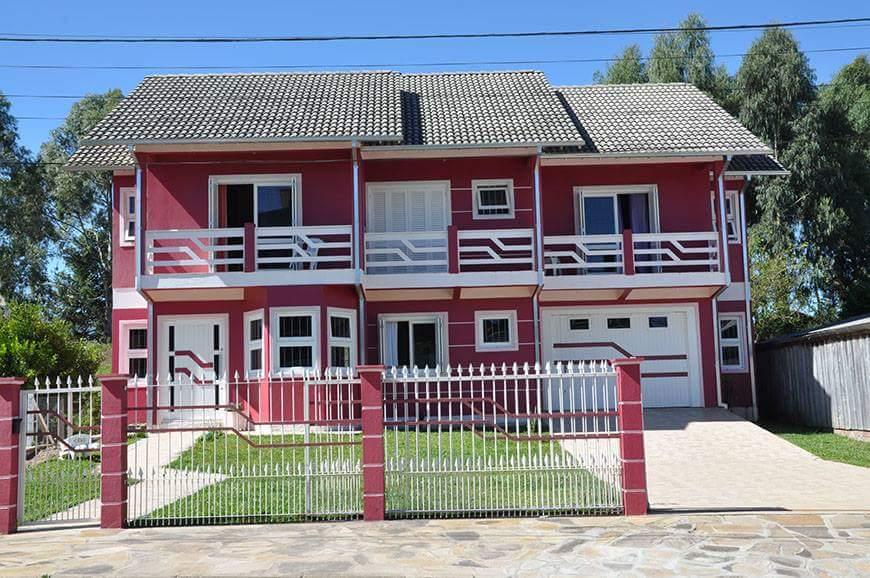 Casa de alvenaria com bom padrão de construção